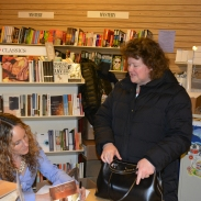 Book launch at Spirit of '76 Bookstore, March 2014