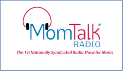 Mom Talk Radio logo