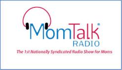Mom Talk Radio logo