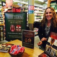 Book signing at Whole Foods Marketplace Swampscott February 7, 2015