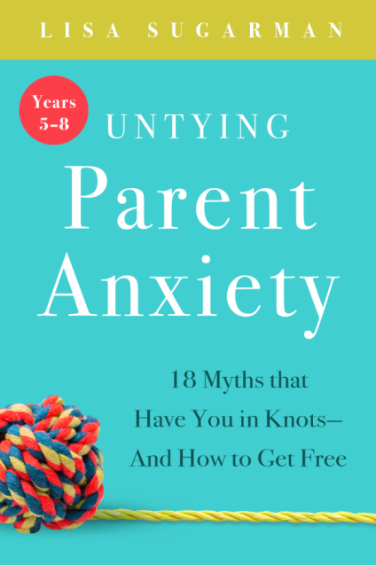 Untying Parent Anxiety Cover Book 1